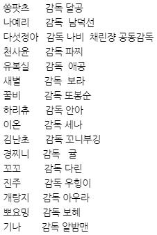 초보여성짝꿍리그 선수 및 감독.jpg
